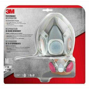 NEW!! 3M PERFORMANCE Respirator OV P100 (65021H1)